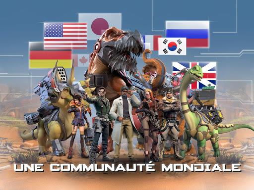 Télécharger Dino War mod apk screenshots 5