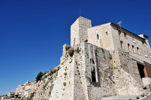France-Antibes-Musee-Picasso.jpg - The Musee Picasso is housed in what was formerly Chateau Grimaldi in Antibes In the South of France.
