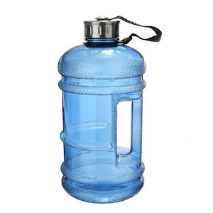 a 2.2 litre water bottle