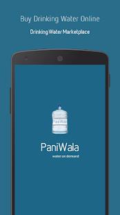 PaniWala → Buy Drinking Water screenshot