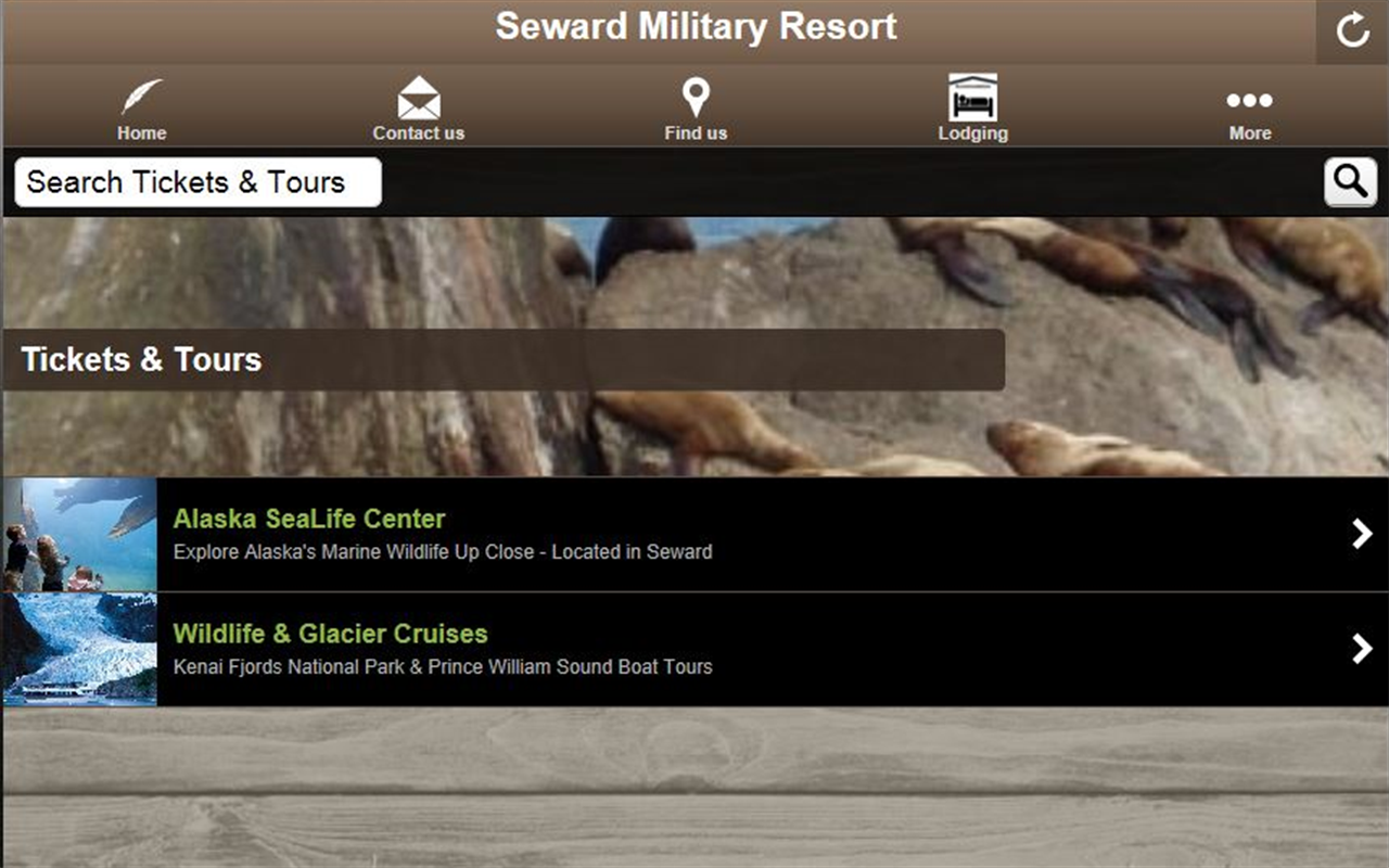 Seward Military Resort- screenshot