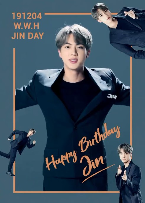 Bts Is Celebrating Jin Day With Punny Birthday Messages