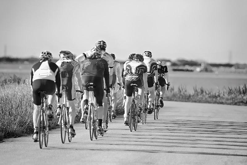 La corsa ciclistica di Fotodiale