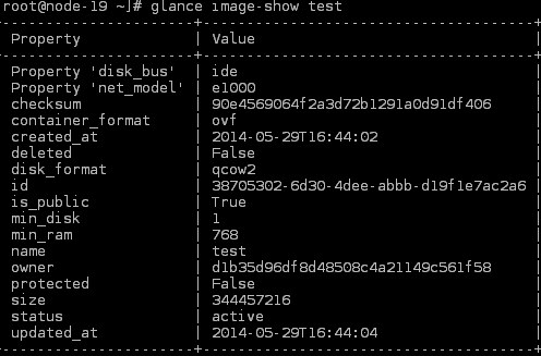 Advanced Examples of OpenStack Image Service (Glance) Usage