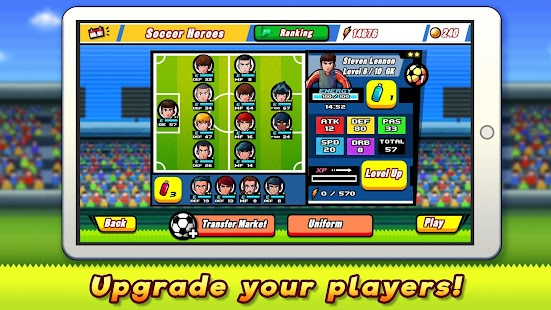 Soccer Heroes 2018 - RPG Football Stars Game Free- screenshot thumbnail