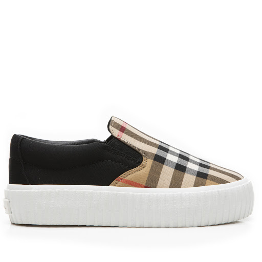 Primary image of Burberry Check Canvas Trainer