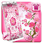 Beautiful Pink Flower Launcher Theme icon