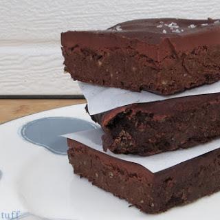 Gluten-Free Dark Chocolate Brownies with Ganache