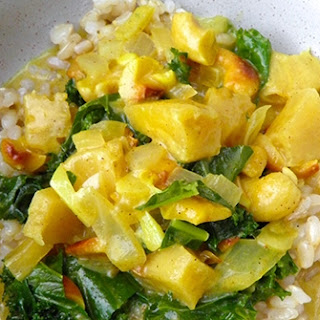 Coconut Kale Curry