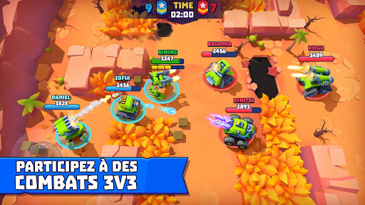 Tanks A Lot! - Realtime Multiplayer Battle Arena fond d'écran 1