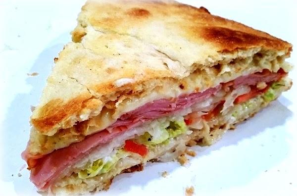 ~ Pleasing Wedgie Sandwich ~ Recipe