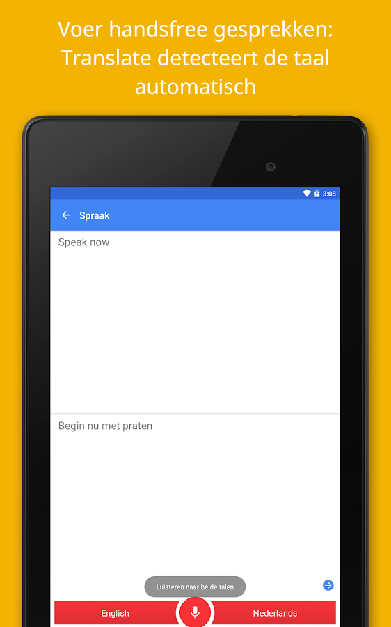 Google Vertalen: screenshot