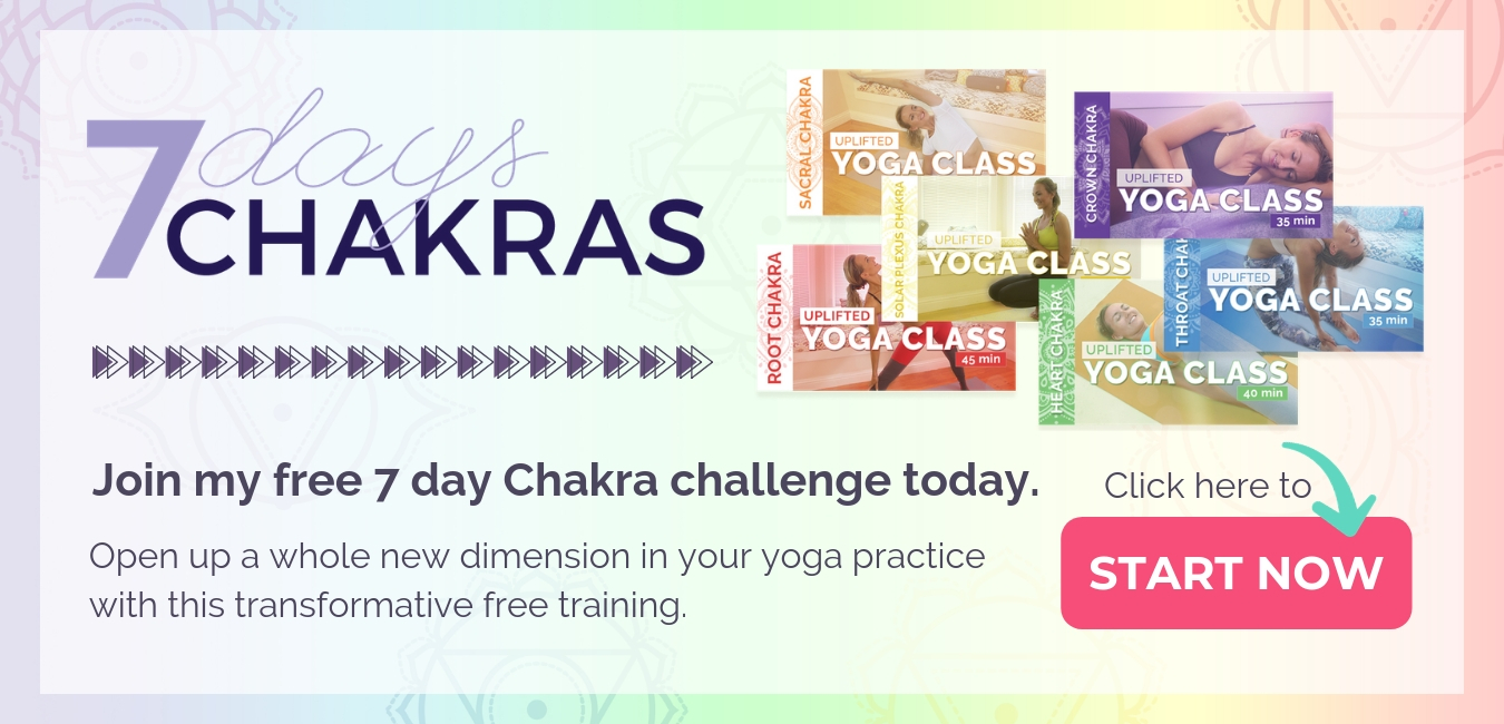 Join my free 7 day chakra challenge today