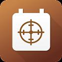 Jagttider - GPS icon