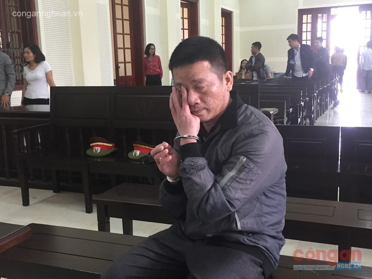 Giọt nước mắt muộn màng của bị cáo Trần Xuân Hà