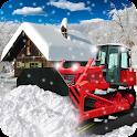 Snow Plow Truck Driver Sim 3D icon
