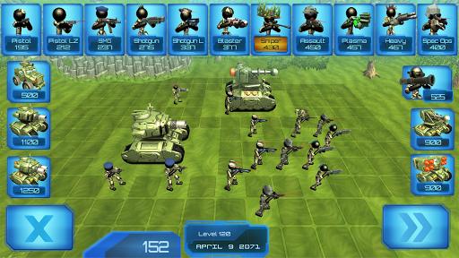 Stickman Tank Battle Simulator 1.06 screenshots 1