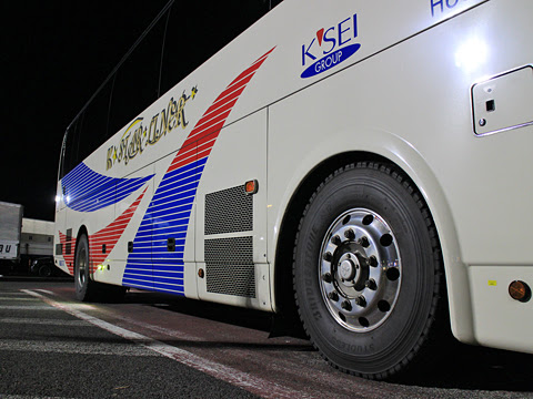 京成バス「K★スターライナー」 大阪・神戸線 H651 草津パーキングエリアにて その2