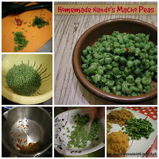 Homemade Nando's Macho Peas
