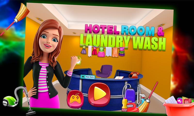 Hotel Room & Laundry Wash- screenshot