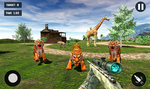 Code Triche Tiger Hunting game: Zoo Animal Shooting 3D 2020 APK MOD (Astuce) screenshots 1