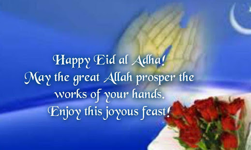 Eid al adha greeting messages apps on google play m4hsunfo