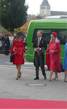 Photo: Hereditary Princess Stephanie and Hereditary Prince Bernhard of Baden, Hereditary Countess Mathilde of Waldburg zu Zeil and Trauchburg