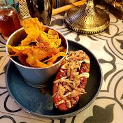 Japanese Street Dog/ Chips