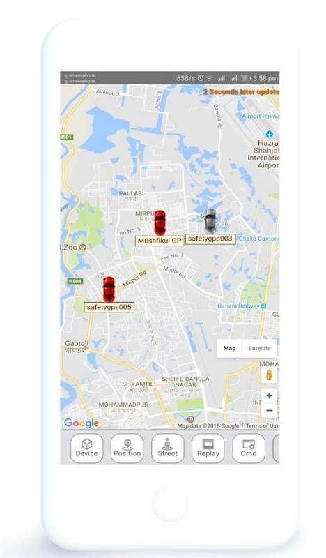Safety GPS Tracker screenshots