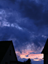 Photo: 15. July 2012, su8nset after a cold stormy and rainy day