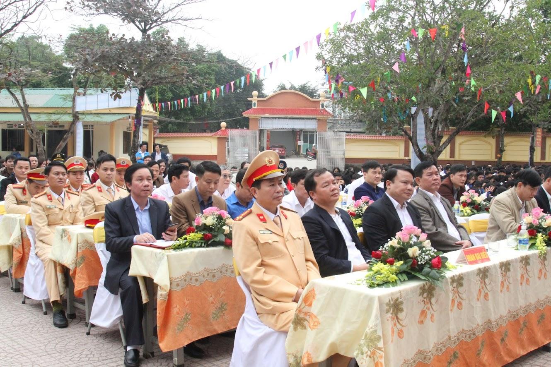 Các đại biểu dự lễ