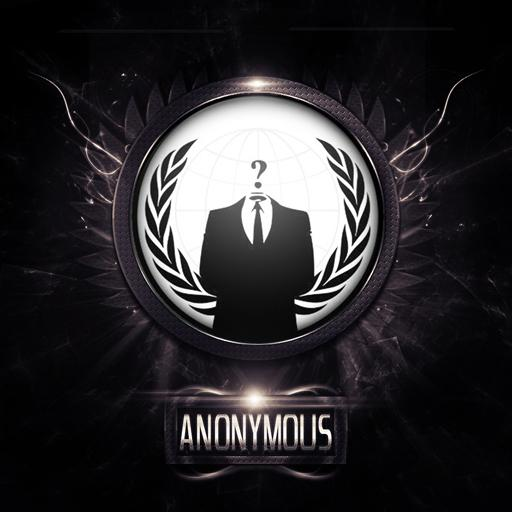 Anonymous Go Keyboard HD theme