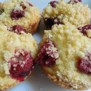 Raspberry Strudel Muffins.