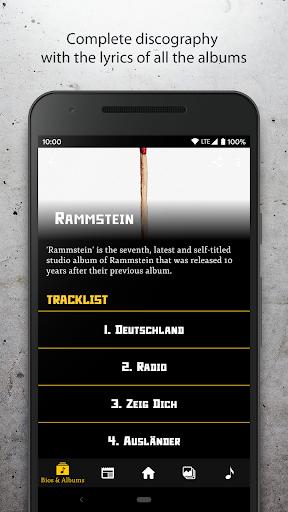 Rammstein Unofficial Fan App ss3