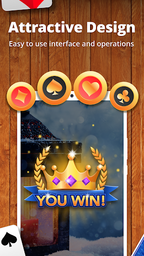 Solitaire by Cardscapes apkpoly screenshots 6