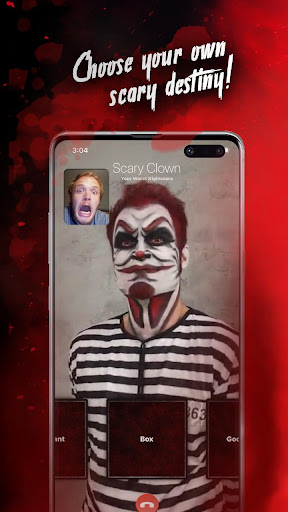 Killer Clown Simulated Video Call And Texting Game modavailable screenshots 5