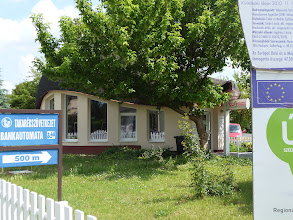 Photo: Tourist office in Velence, Hungary made accessible with support of the EU.