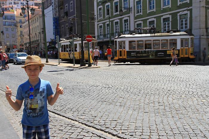 Знаменитый лиссабонский трамвай 28