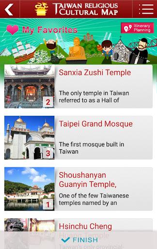 Taiwan Religious Culture Map  screenshots 6