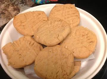 Granny's Peanut Butter Cookies