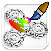 Fidget Spinner Coloring Book For Adults Free