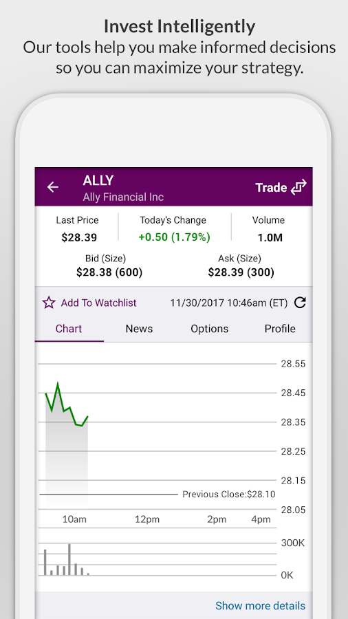 Ally Mobile- screenshot