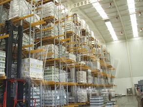 Photo: Gas Vapor S.L. - www.gv-iei.es Instalacion Areas de Almacen-Estanterias para Almacenaje de Palets