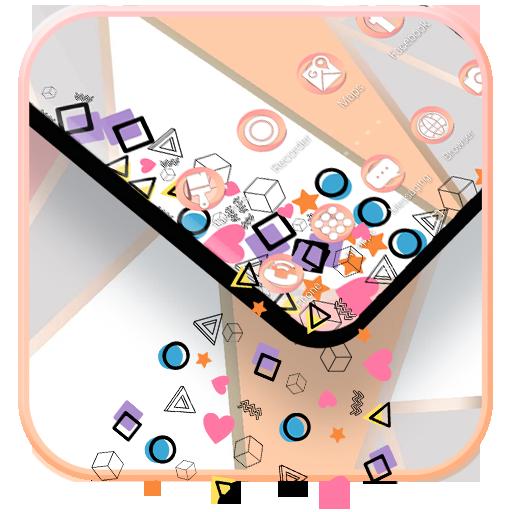 App Insights Pink Pastel Color Launcher Theme Apptopia