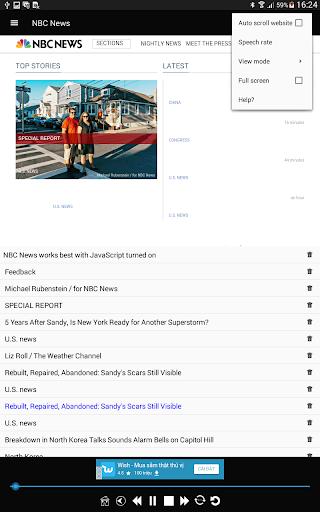 News Voice Reader 10.8.3 Screenshots 14