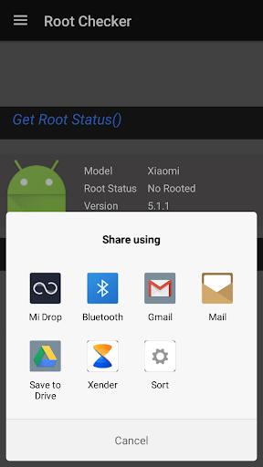 Root-Checker 1.0 screenshots 2