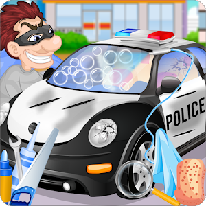Police Car Wash for PC and MAC