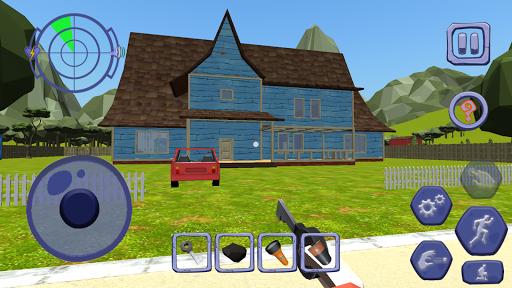 Scary Clown Man Neighbor. Seek & Escape 1.12 screenshots 10