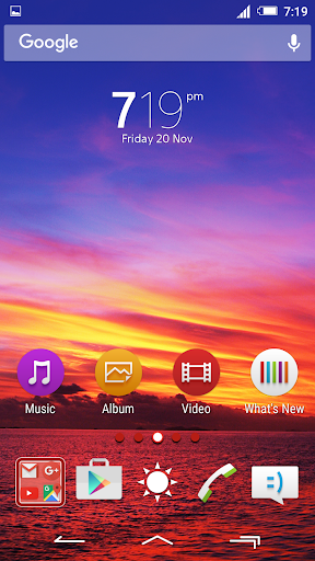 Sunset Theme Xperia