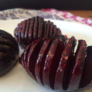 Hasselback Beets